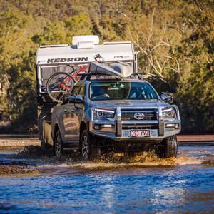 Toyota Hilux - Genuine accessorised - creek crossing