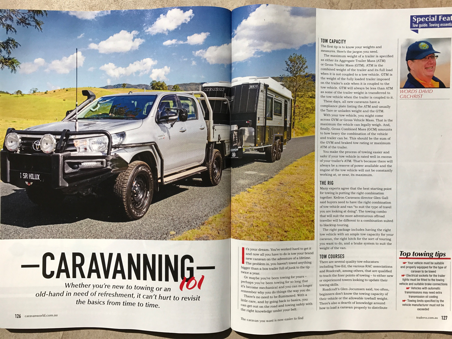 Hilux & KEDRON Caravan towing tips