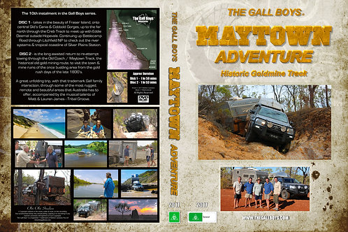 """'THE MAYTOWN ADVENTURE"""" TWIN DISC DVD - FREE SOUNDTRACK CD!!"""