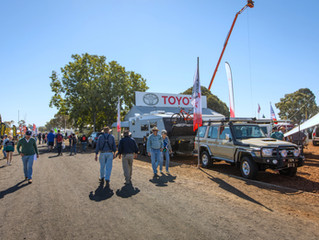 AGQUIP GUNNEDAH - Toyota display
