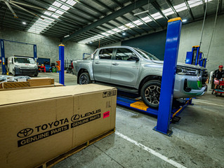 2020 Hilux Accessory fitting