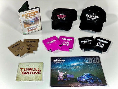 MAYTOWN PACK SPECIAL - DVD, CD, CAPS & COOLERS