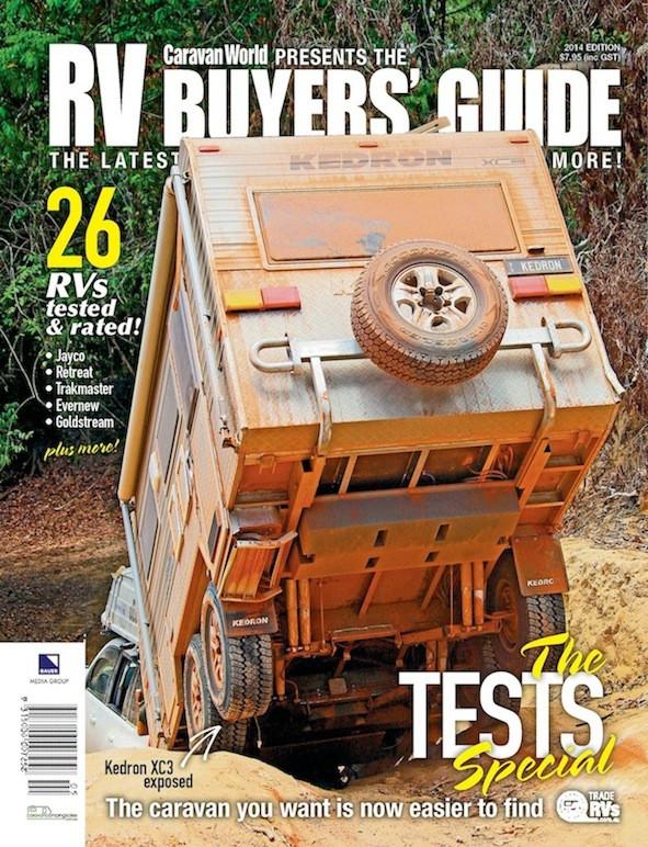Caravan World - Buyers Guide - KEDRON Caravans - The Gall Boys ©️