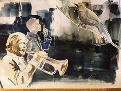 Artist: Oscar Bråne. Playing Grass Shadows tunes on the trumpet.