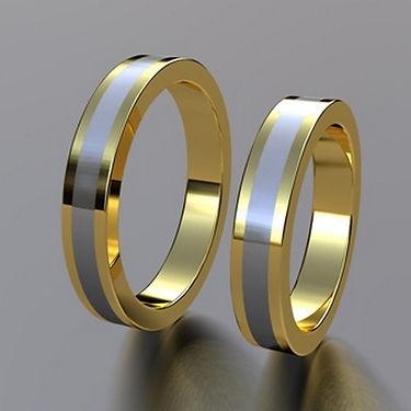 argolla fusion, oro central, argolla especial, oro, anillo, anillo, de matrimonio