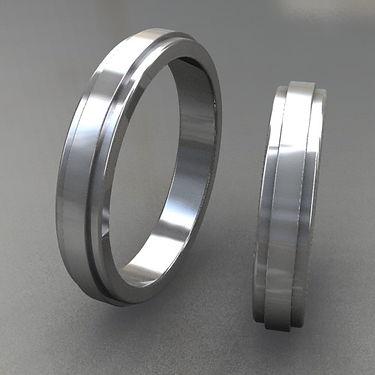 argollas relieve, argollas color, acero, anillo de matrimonio, anillo