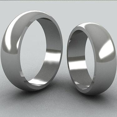argolla bombe, argolla color, acero, anillo de matrimonio