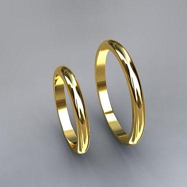 argolla inglesa, 201, argolla color, oro amarillo, 18k, anillo, anillo de matrimonio
