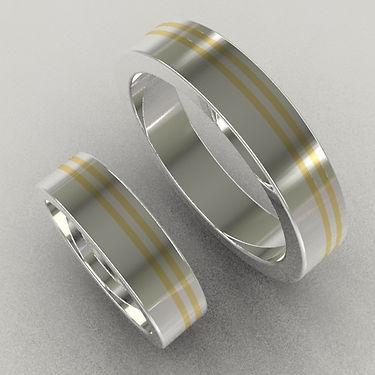 argolla fusion, oro, argolla bicolor, oro amarillo, 18k, anillo, anillo de matrimonio, líneas