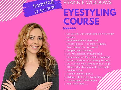 Eyestyling Kurs mit Frankie Widdows