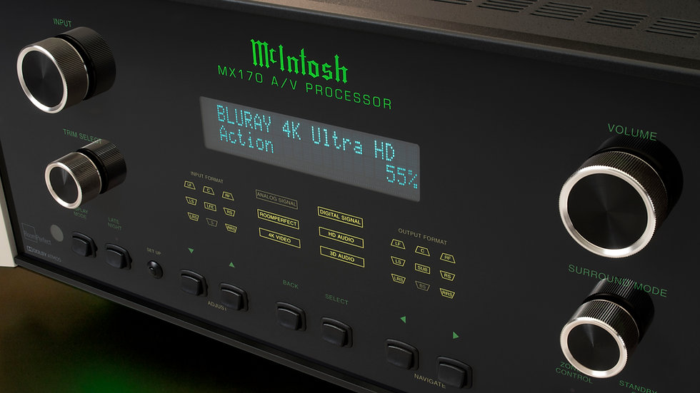 McIntosh - MX 170 AC - Referenz AV-Vorstufe