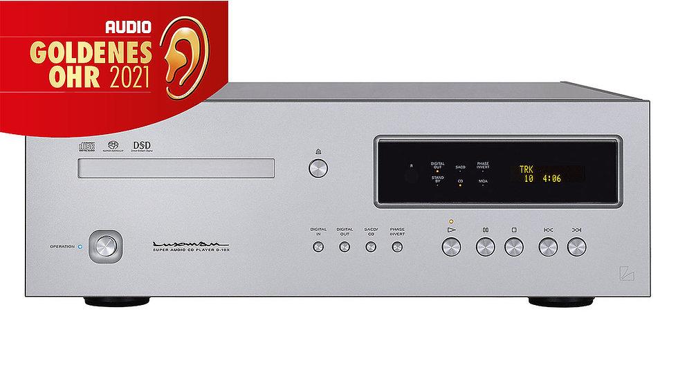 Luxman D10X - Referenz SACD/CD-Player