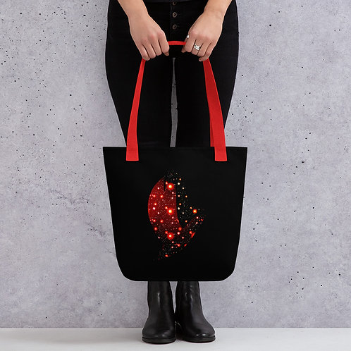 Henergy Dark Energy tote bag