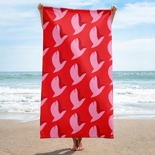 Henergy Love Energy bathroom & beach towel