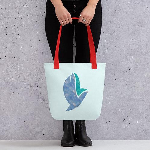 Henergy Spiritual Energy & Feng Shui Water tote bag