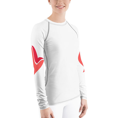 Henergy Physical Energy & Feng Shui Fire women's slimsoft training top