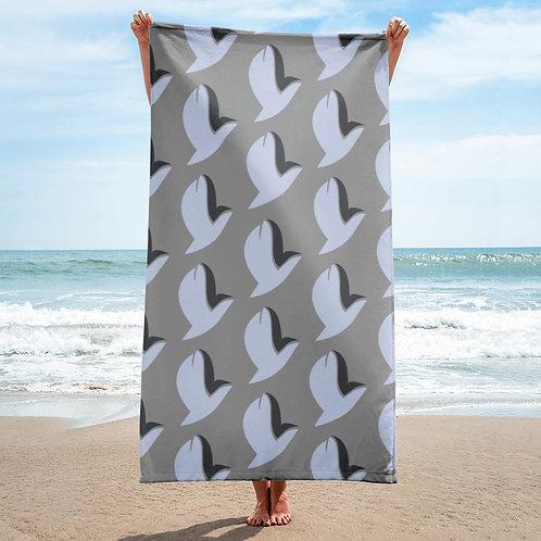 Henergy Mental Energy & Feng Shui Metal bathroom & beach towel