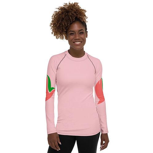 Henergy Positively Pink women's slimsoft training top