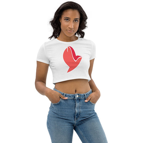 Henergy Physical Energy & Feng Shui Fire eco crop top