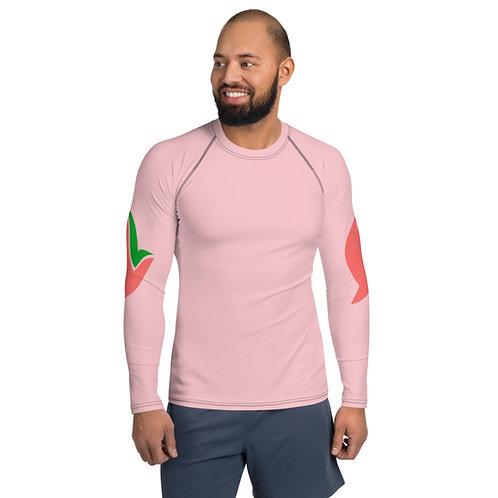 Henergy Positively Pink men's slimsoft training top