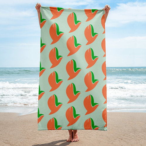Henergy Sensual Energy & Feng Shui Wood bathroom & beach towel