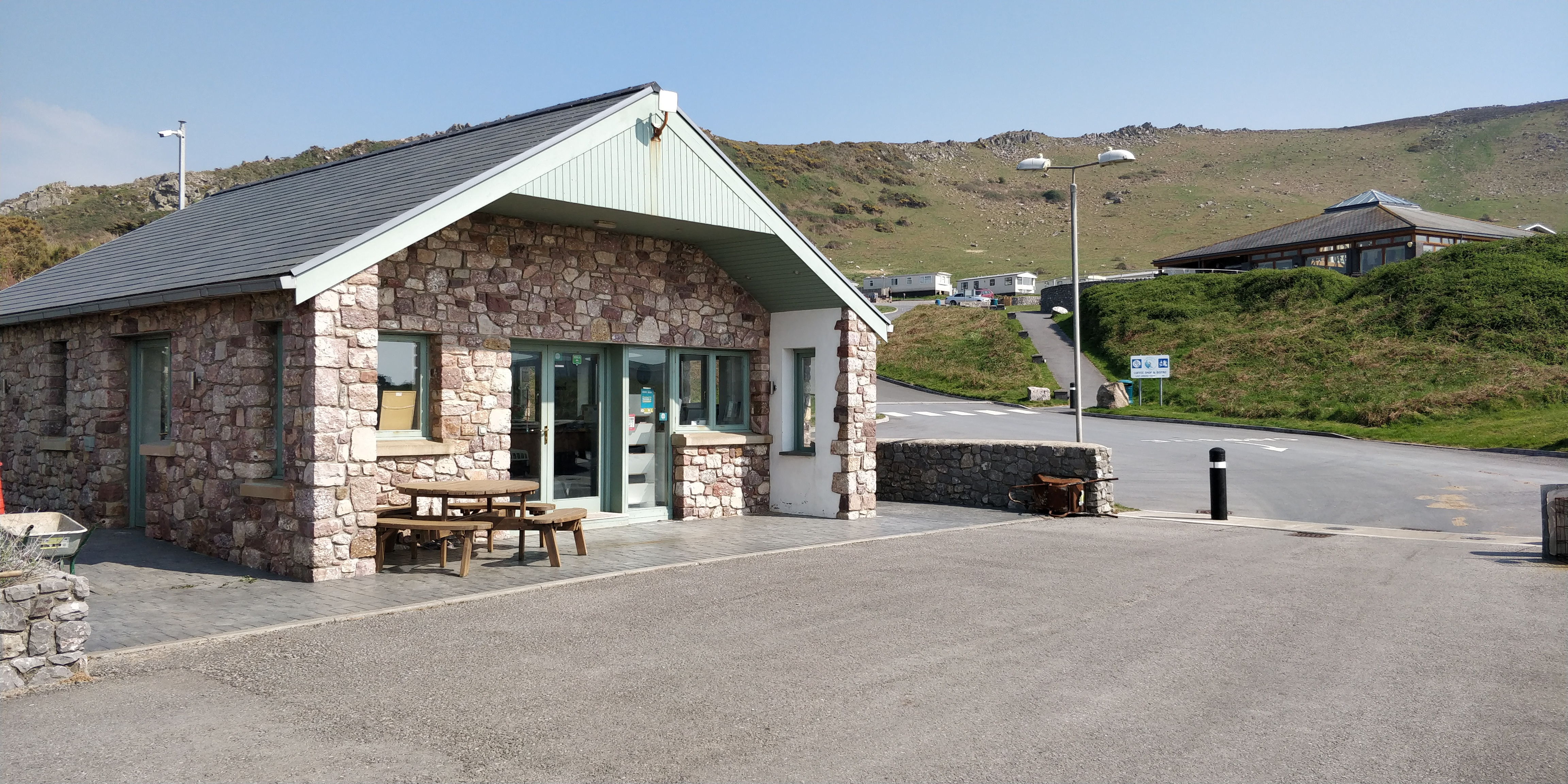 Campsite booking office