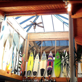 Surf boards at Eddys