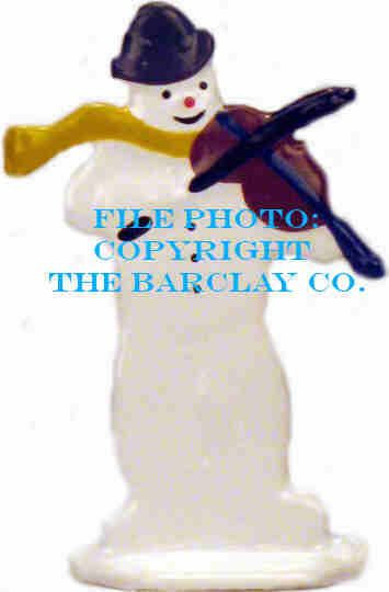 GF-028: Snowman Playing Fiddle