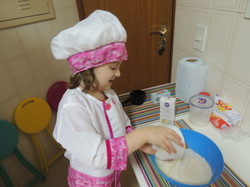Colocando os ingredientes...