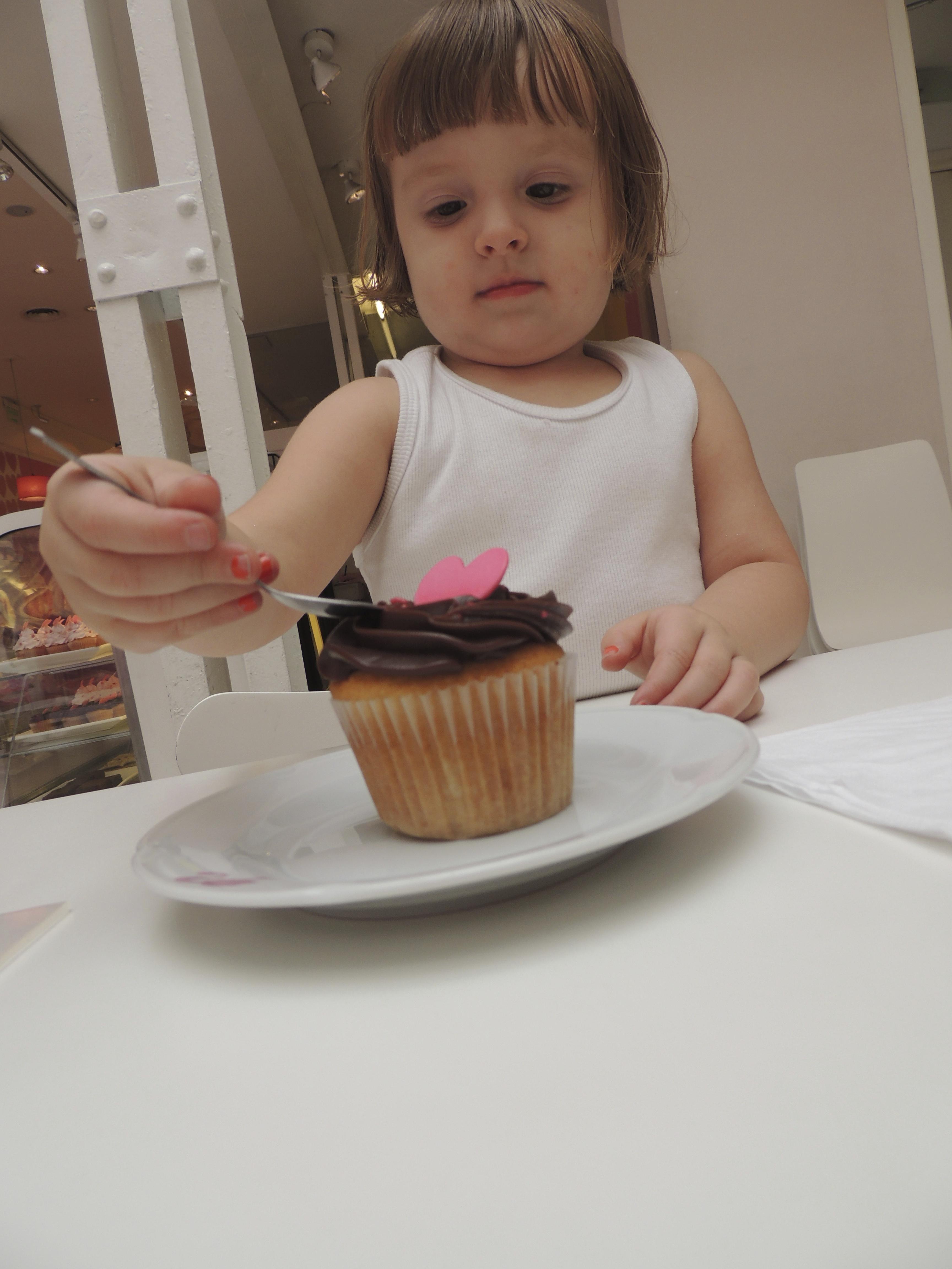 E esse cupcake???
