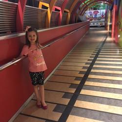 Entrando no Museo de Los Niños