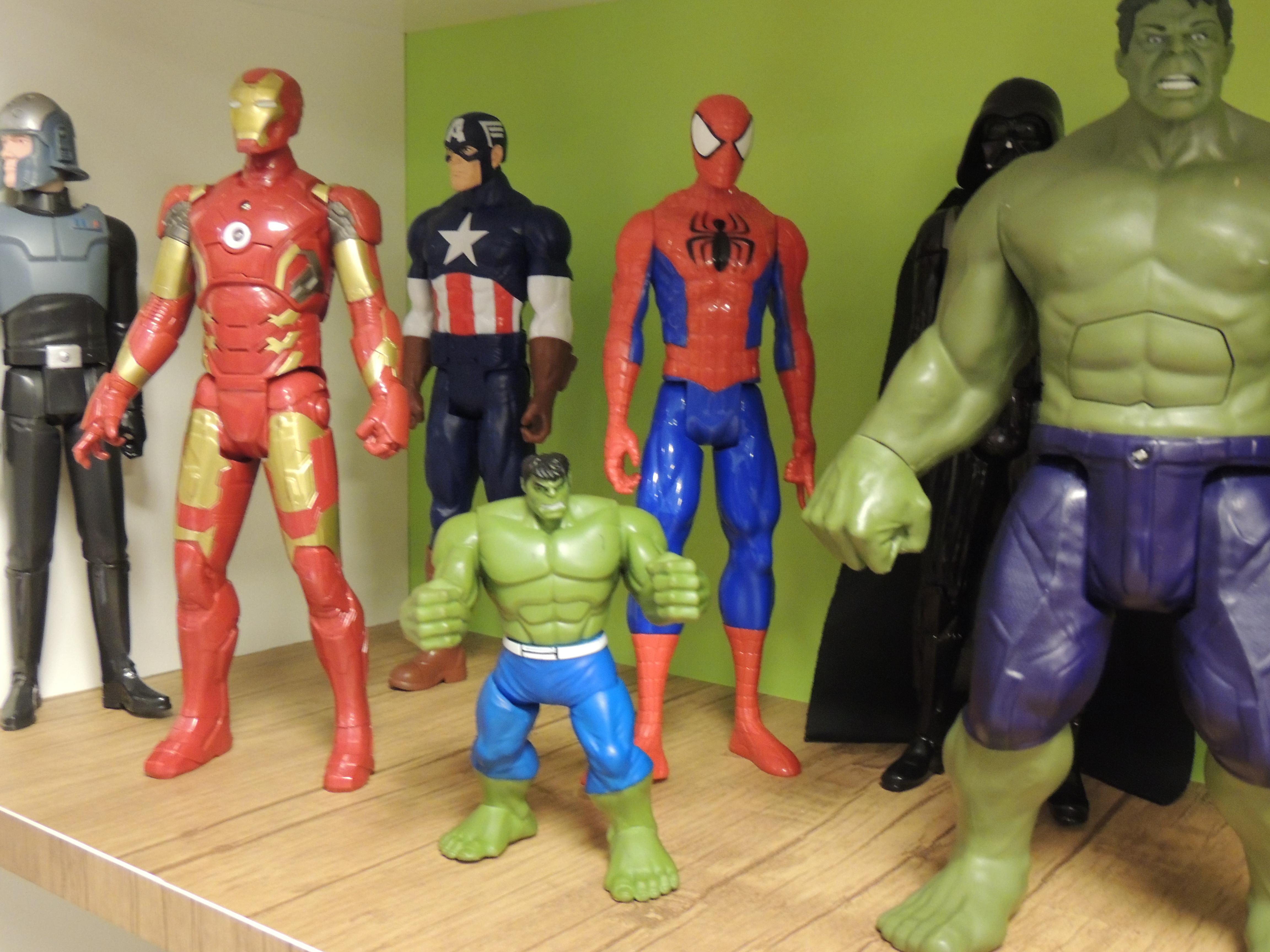 Mais heróis!