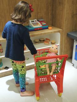 Fazendo as compras!