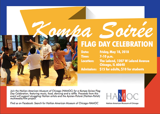 Dancing With Haitians At La Fete De >> Kompa Soiree Flag Day Celebration Haitian American Museum Of