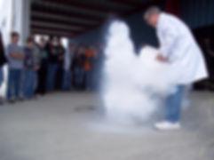 Liquid Nitrogen Demonstration