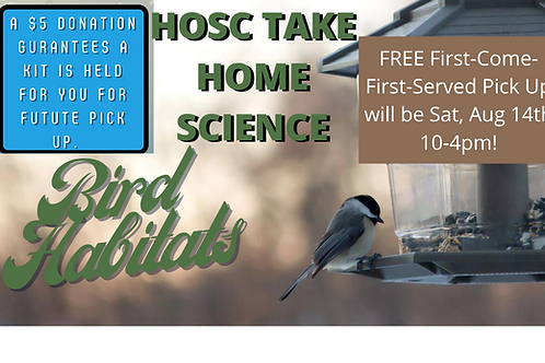 Take Home Science Kit- Bird Habitats