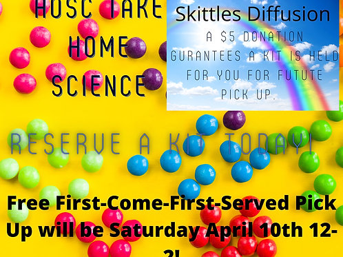Take Home Science - Skittles Diffusion
