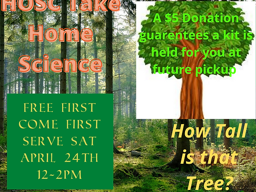 Take Home Science Kit- How Tall is that Tree