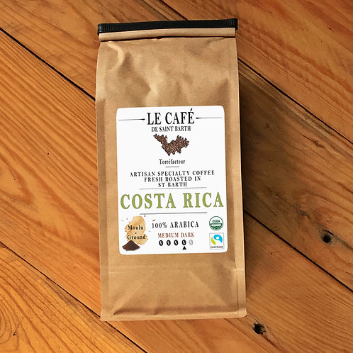 COSTA RICA Torréfaction Brune /Medium Dark Roast