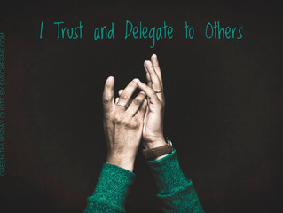 I Trust and Delegate with Green Element
