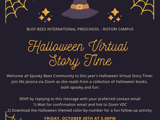 Halloween story time!
