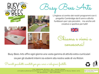 BUSY BEES ARTS - Ristori campus