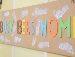 Busy Bees - apertura anno scolastico 2020-2021