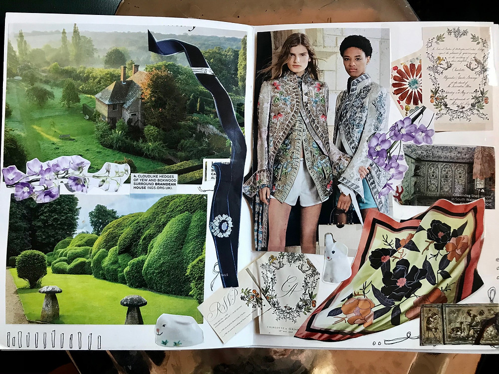 Collage from my personal vision journal