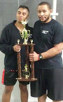 muay thai fighting trophy herndon chantilly