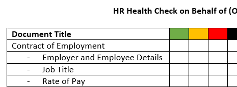 FREE* HR Health Check