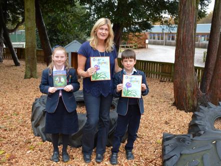 Children's Author Inspires Pupils