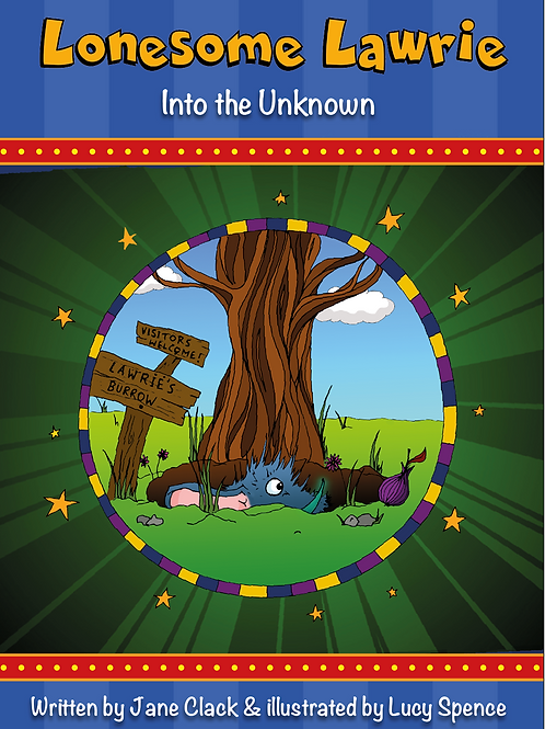 Lonesome Lawrie: Into the Unknown - Softback