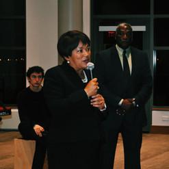 Mayor Toni Harp