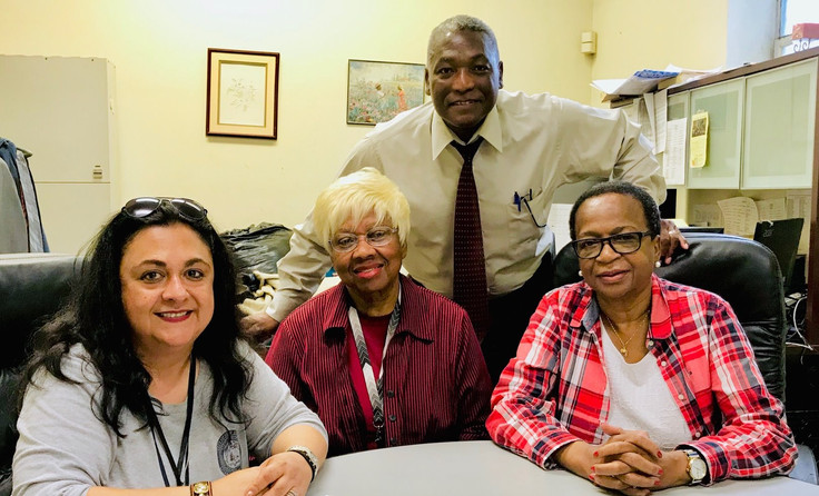Meeting with Carmen Mendez, Wooster Square Neighborhood Specialist